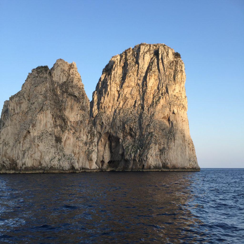 Capri rocks